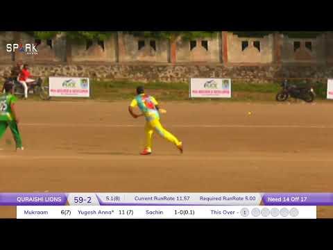 Max Builder & Raj Construction Presents Aurangabad TCP QURESHI LION  VS GREEN XI