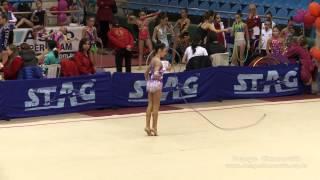 Denge Cimnastik - Ece Gökçe (Edirne 2014 - ip)