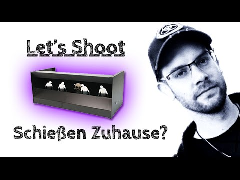 Luftgewehr Zuhause schießen: Rechtliche Situation | Kugelfang | Zombie Entenkasten - Let's Shoot #31