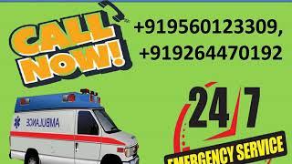 Get High-Class Medivic Road Ambulance Service in Patna and Gaya