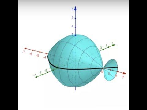 Graphing Spherical Coordinates in GeoGebra 3D (Part 1): A Sphere