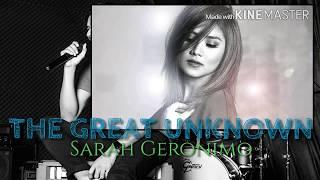 Sarah Geronimo - The Great Unknown feat. Hale Lyrics