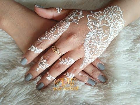 Simple White Henna Design For Wedding Easy Diy Henna 70 Mp3 Laguku
