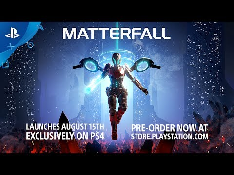 MATTERFALL - Level Playthrough | PS4 thumbnail