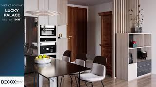 Mẫu thiết kế nội thất căn hộ Lucky Palace theo phong cách Hiện...