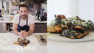 Andy Grills the Crispiest Salmon Collars | From the Test Kitchen | Bon Appétit