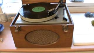 Goldring record player and the Spencer Davis Group with Steve Winwood