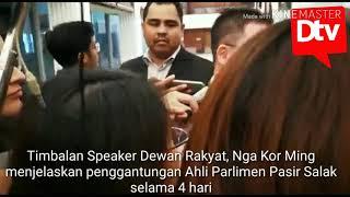 Ahli Parlimen Pasir Salak digantung dewan 4 hari