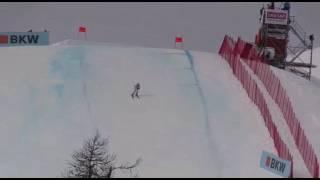 Martin KHuber Sturz Genickbruch St. Moritz Accident Crash 2017