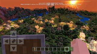 СИД НА 4 НОВЫЕ ДЕРЕВНИ ОКОЛО СПАВНА в Minecraft PE 1.10.0.3!