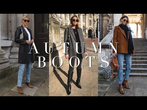 My Top 5 Boots Styles For Autumn