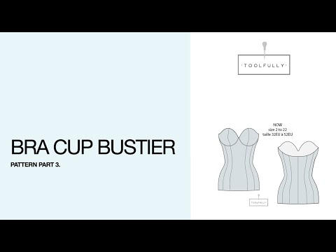 Bustier with cup.