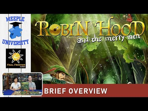 Robin Hood and the Merry Men Board Game – What to Expect, Brief Overview