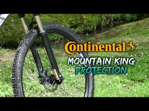 "Видео о Покрышка Continental Mountain King, 27.5""x2.20, Foldable, BlackChili, ProTection 199514"