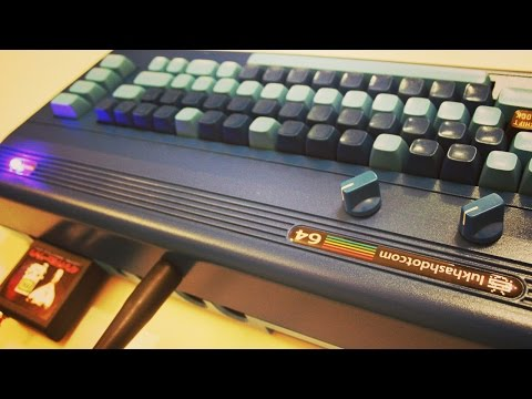 LukHash // COMMODORE 64 LIVE DEMO - (Retro Gear 4 Modern Studio)