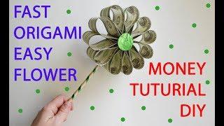 Money small roses ball origami dollar kusudamatutorial diy folded no easy money flower fast tutorial origami dollar diy mightylinksfo