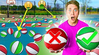 100 MYSTERY BASKETBALLS! *1/2 are PRIZES 1/2 are PUNISHMENTS*