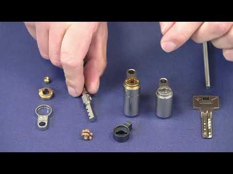 ABUS Cylindre BRAVUS MX MODULAR double entrée - modification des longueurs sur les deux côtés