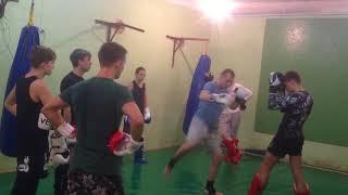 Комбинации в Тайском Боксе