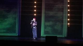 At the talent show Fort Minor Be Somebody