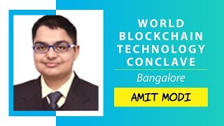 EOS: The Era of the DACs by Amit Modi @ World Blockchain Technology, Bangalore
