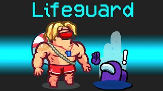 NEW Among Us SCARY LIFEGUARD ROLE?! (Hilarious Mod)
