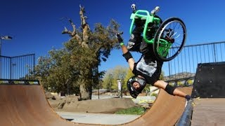 Wheelchair Freestyle - Wheelz - Gnarly!