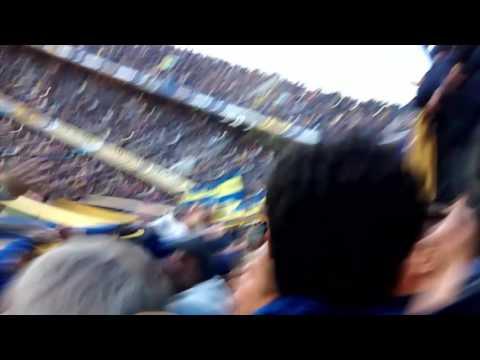 """Hoy hay que ganar"" Barra: La 12 • Club: Boca Juniors • País: Argentina"
