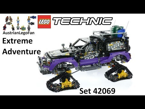 Lego Technic 42069 Extreme Adventure – Lego Speed Build Review