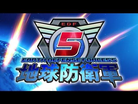 【PS4】超爽快打怪獸新作《地球防衛軍5》1st PV