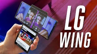 LG Wing hands-on: really flipping fun