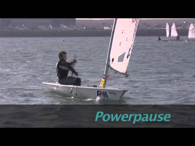 Laser Sailing Top Tips - Accelerating - With Double Olympic Gold Medallist Shirley Robertson