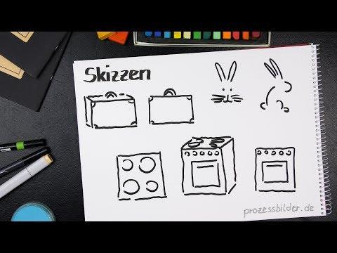 Flipcharts gestalten 1/14 Skizzentechnik
