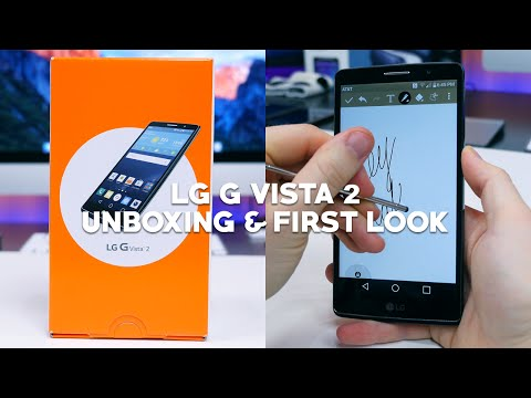 LG G Vista 2 Unboxing and First Look