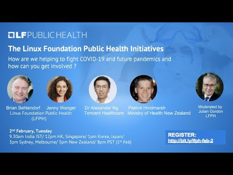 Update on the Linux Foundation Public Health Initiative for Asia Pacific