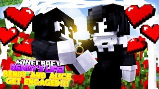 Minecraft BENDY'S LIFE #4-BENDY AND THE INK MACHINE ASKS ALICE ANGEL TO MARRY HIM!!- Baby Leah
