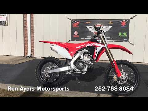 2019 Honda CRF250RX in Greenville, North Carolina