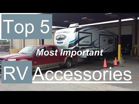 Top 5 Most Important RV Accessories | Best RV Gadgets | Best RV Upgrades | Best RV Modifications