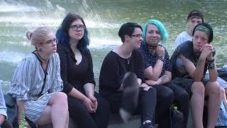 Dubrovina parkā dārdēja roka koncerts
