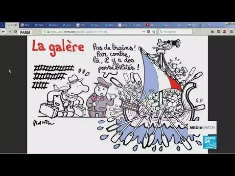 Macron's strike test