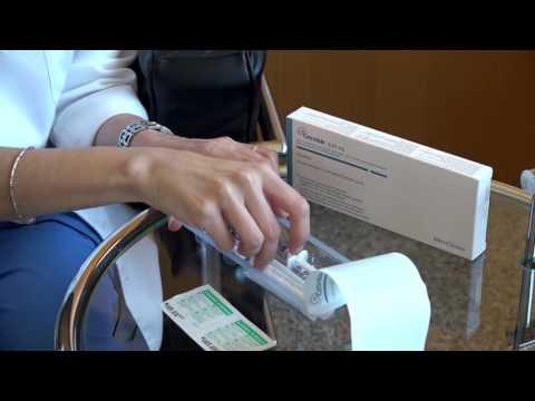 Cetrotide®: La preparazione e somministrazione della medicina.