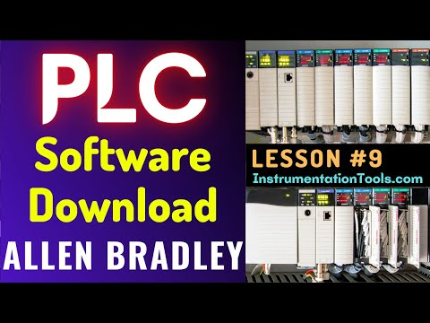 PLC Training 9 - Download Allen Bradley PLC Software - YouTube