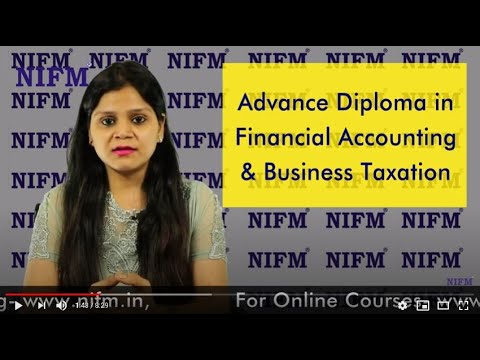 Advance Diploma in Financial Accounting & Business Taxation ...