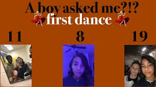My first middle school dance!! A boy asked me?!