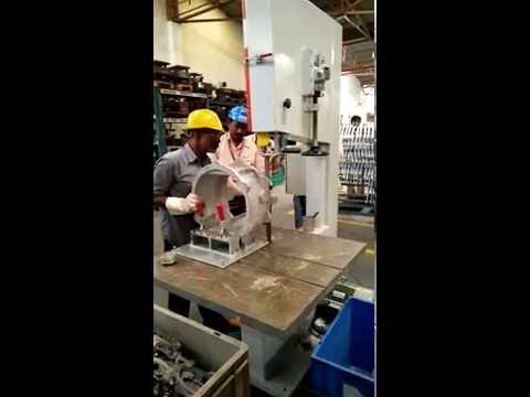 Aluminum Runner Riser Cutting Machine