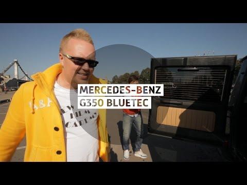 mercedes-benz g видео