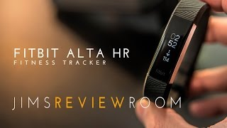 Fitbit Alta HR Fitness Tracker - REVIEW