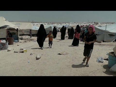العرب اليوم - شاهد: فنلنديات داعش يُعانين ظروفًا قاسية داخل مخيم الحول السوري