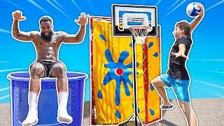 Make the Shot... Dunk the Tank! 2HYPE Basketball Carnival Games