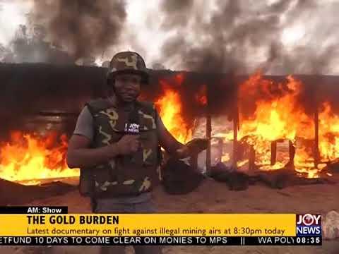 The Gold Burden - AM Show on JoyNews (26-3-18)